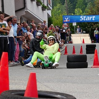 Rückblick 2018 - Bobby Car Challenge am 7. Juli - Der Große Preis von Oberndorf